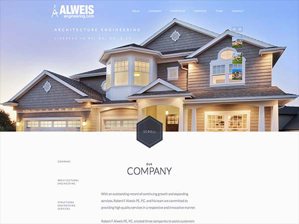 Alweis Engineering Website